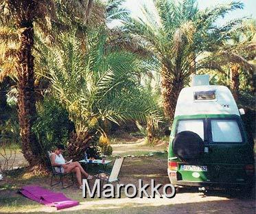 Urlaub Marokko mit dem Wohnmobil T4