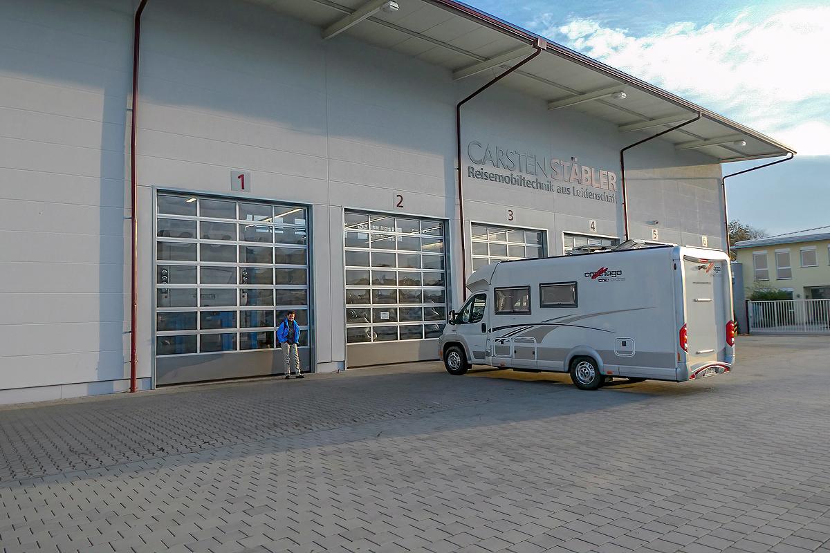 Bei Carsten Stäbler GmbH Einbau Luftfederung