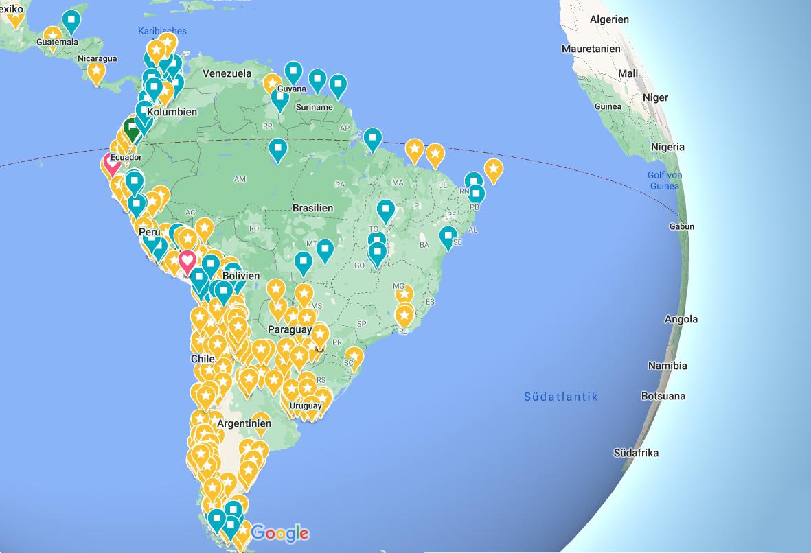 Südamerika Titelbild