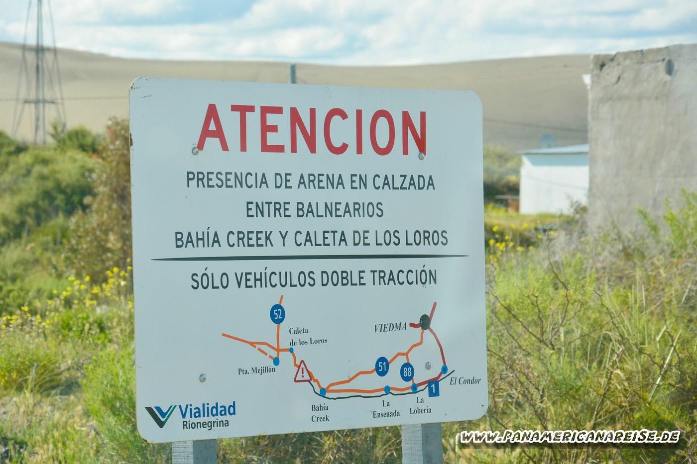 Bahia Creek Argentinien RP1