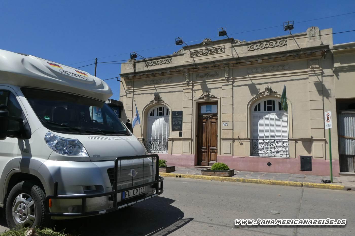 Museo Juan Domingo Peron in Lobos Argentinien
