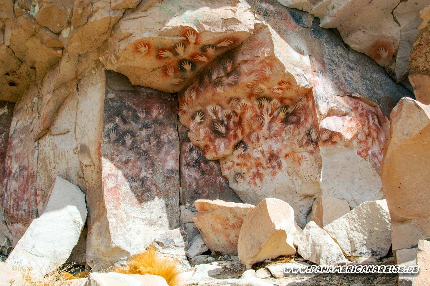 Cueva de las Manos Argentinien Höhle der Hände