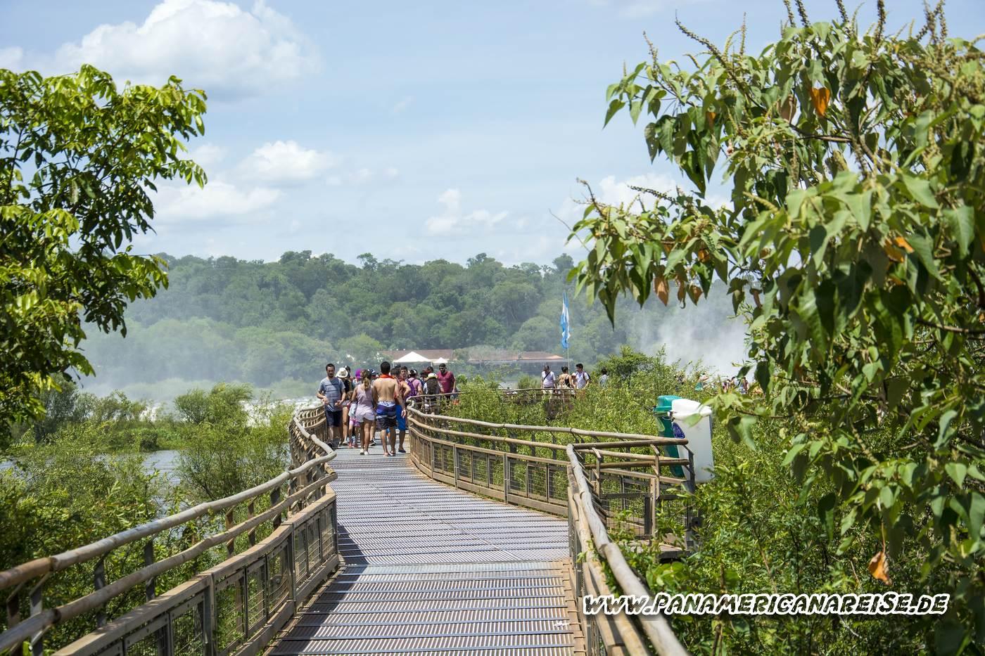 Iguazu Wasserfälle - Iguazu Waterfalls