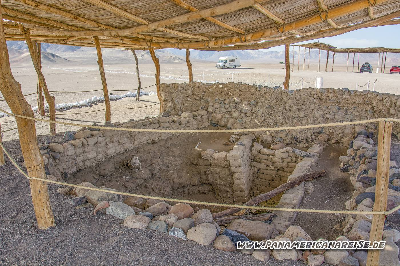 Cemetery Chauchilla Peru Mumiengräber