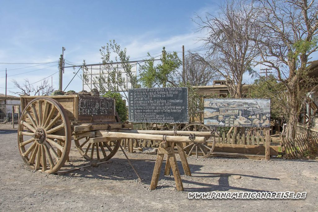 Geisterstadt Humberstone Chile Salpetermine
