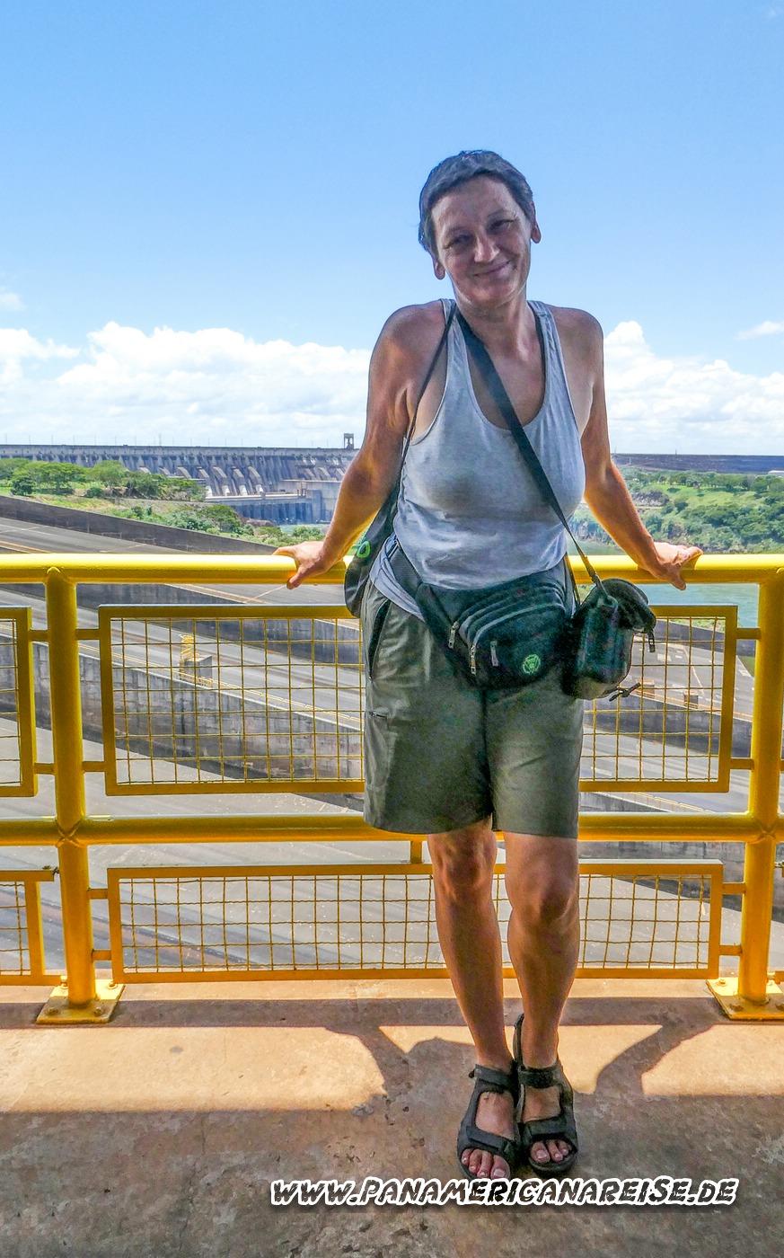 Paraguay Itaipu Staudamm Weltreise