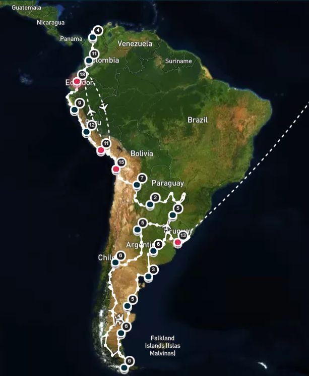 1 Jahr Südamerika mit dem Wohnmobil