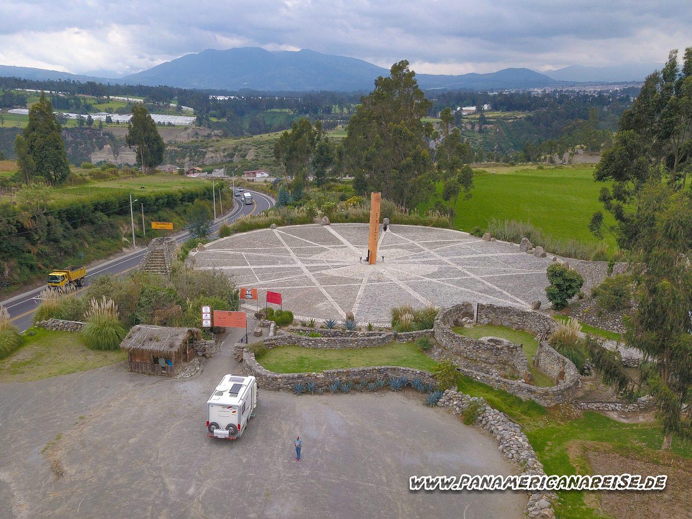 Echter Äquator Mitad del Mundo Ecuador Reloj Solar
