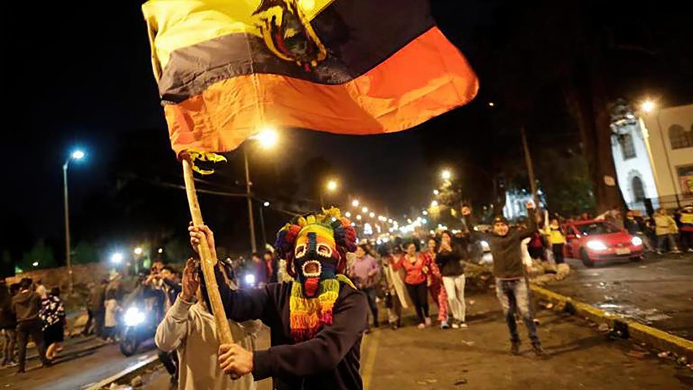 Ecuador Generalstreik 14.10.2019