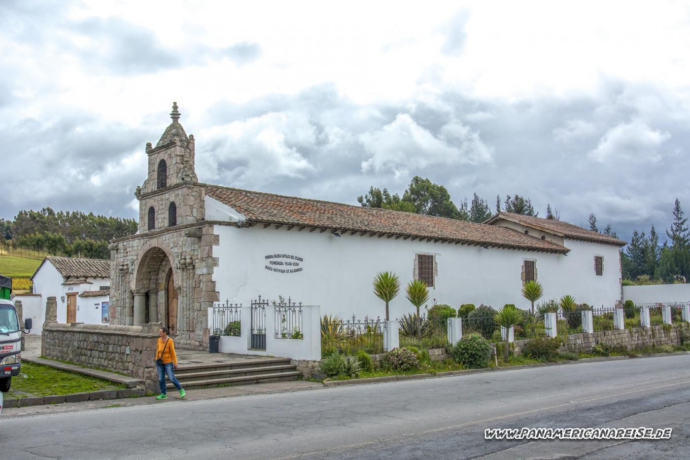 Colta Ecuador Iglesia de Balbanera